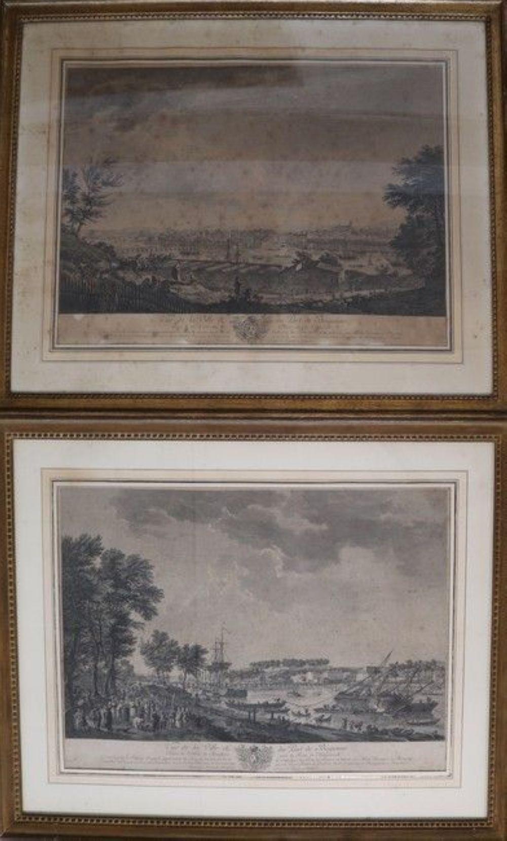 D'après Joseph VERNET (1714-1789) gravée par Cochin et Le Bas