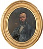 F.B. Carpenter, Portrait of a Man, Francis Bicknell Carpenter, Click for value