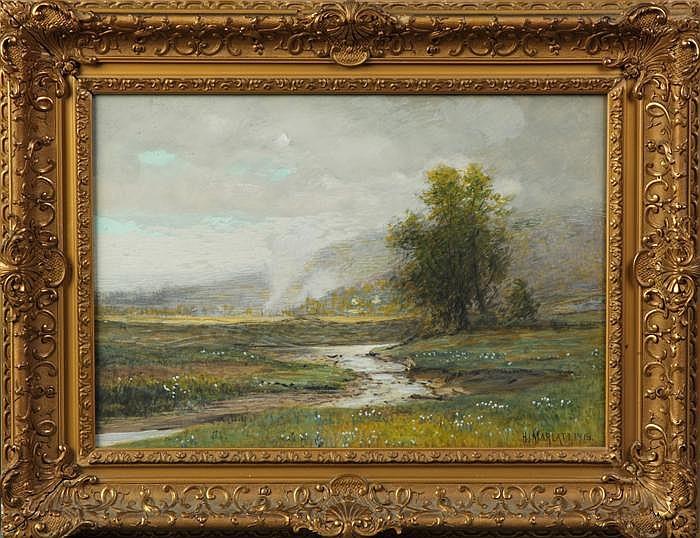 Hector Irving Marlatt (American 1860-1929)Landscape
