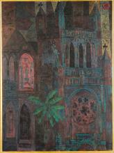 John Altoon  (American, 1925-1969) The Cathedral