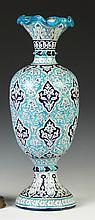 Camel Skin Hand Painted Vase