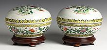 Pair of Chinese Covered Tureens