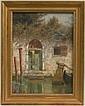 Sgn. Burr H. Nicholls, (Am. 1848-1915), o/c, orig. frame & cond., exc., 16