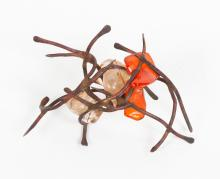 Claire Falkenstein (American, 1908-1997) Abstract Metal and Glass Sculpture