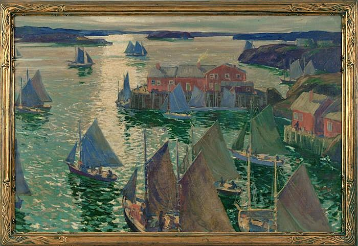 Jonas Lie - (American 1880-1940)
