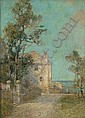 Prosper L. Senat (1852-1925) Bermuda Scene, Prosper Louis Senat, Click for value