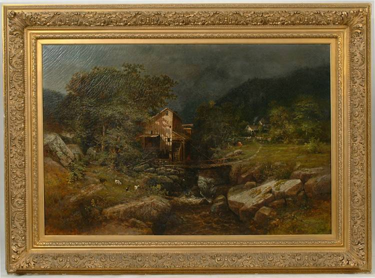 Attributed George W. King Painting