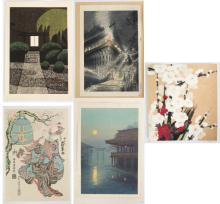 Woodblock Prints and Needlework