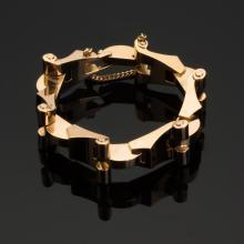 Tiffany Retro Design 14K Gold Bracelet
