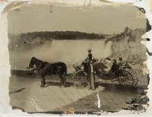 Ambrotype of Niagara Falls