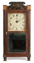 Silas Hoadley Miniature Shelf Clock