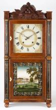 Eli Terry and Son Stenciled Shelf Clock