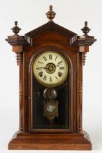E. N. Welch Lucca Shelf Clock