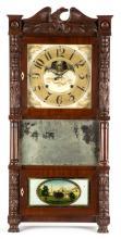 John Birge Triple Decker Shelf Clock