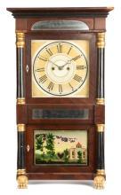 Salem Bridge Triple Decker Shelf Clock