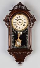 E.N. Welch Hanging Italian Wall Clock