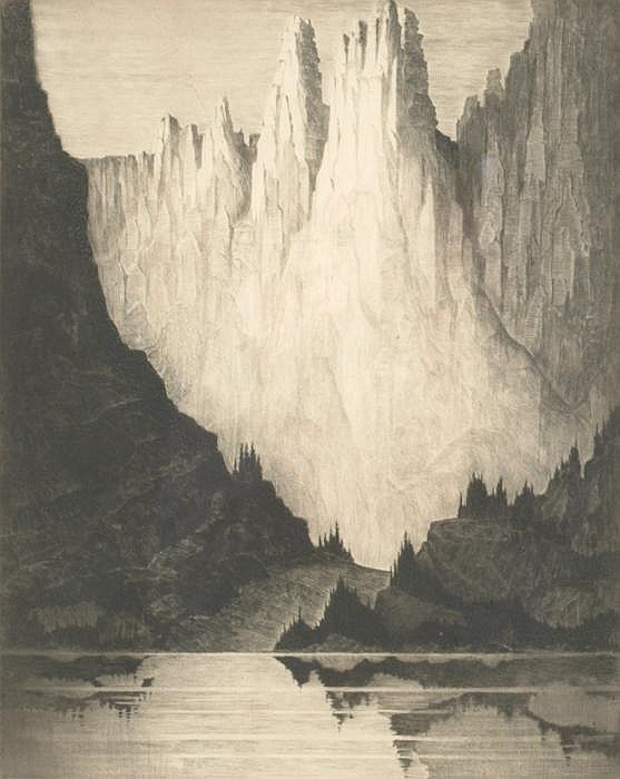 Gerry Peirce (American, 1900-1969) Print