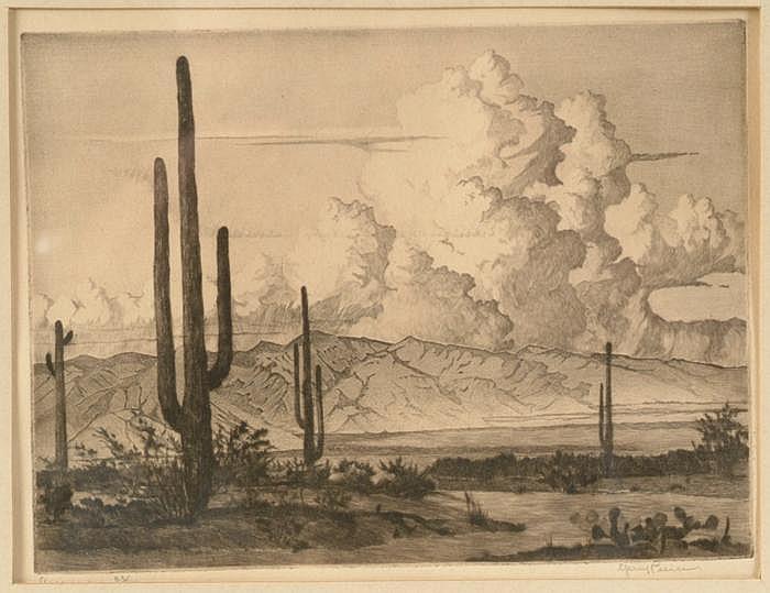 Gerry Peirce (1900-1969, American)  Print