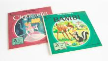 Disney Story Book Records & Various Children's Story Records