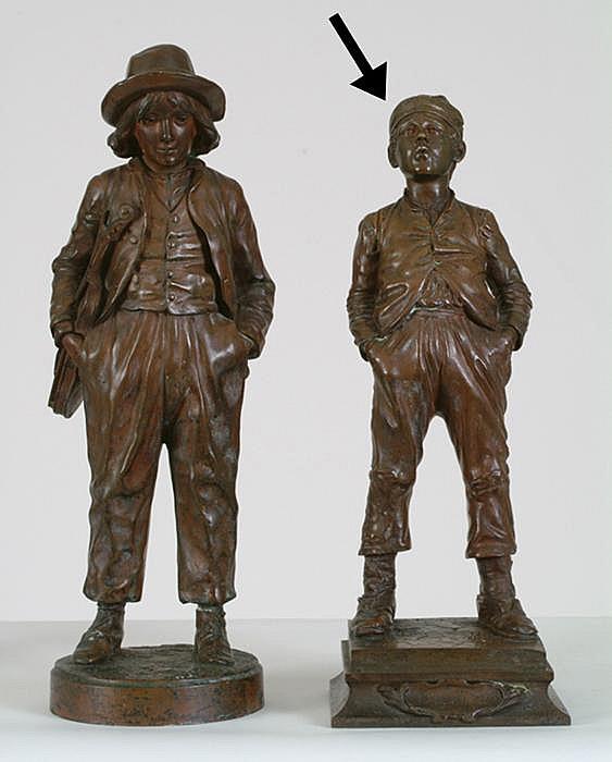 Sgn. Halfdan Hertzberg (1857-1890) Bronze