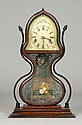 Rare JC Brown, Bristol, CT, Acorn Shelf Clock