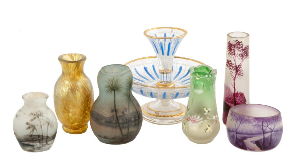 Group of Miniature Cabinet Items