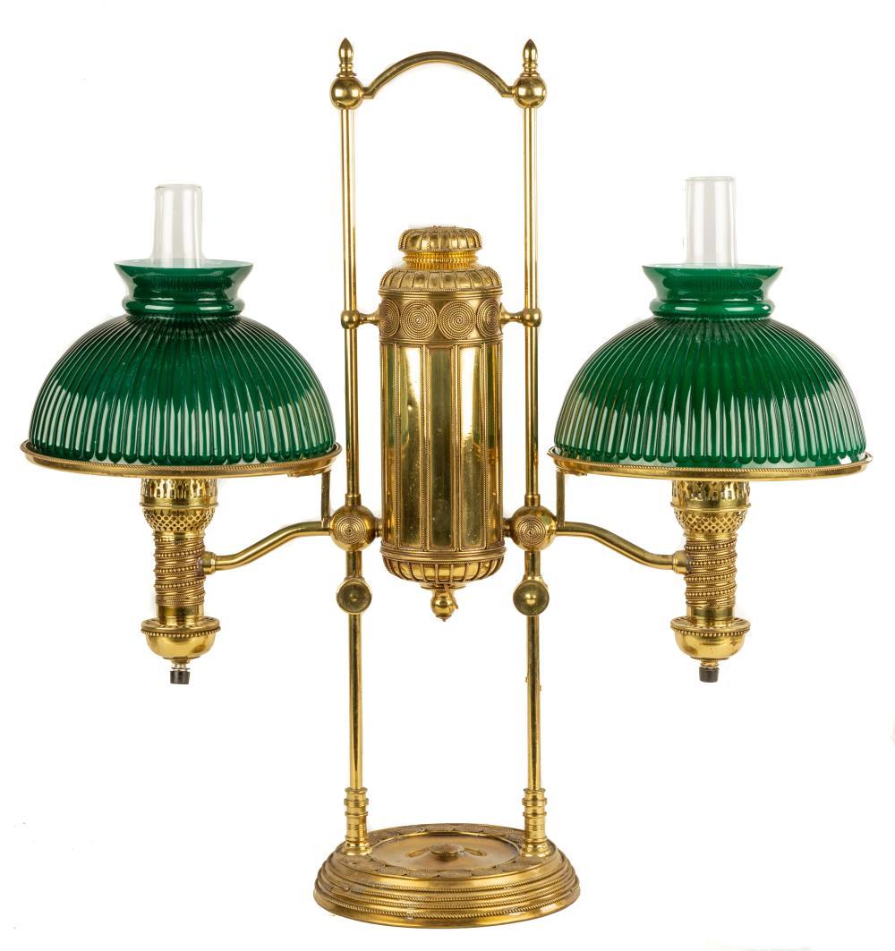 Double Manhattan Student Lamp