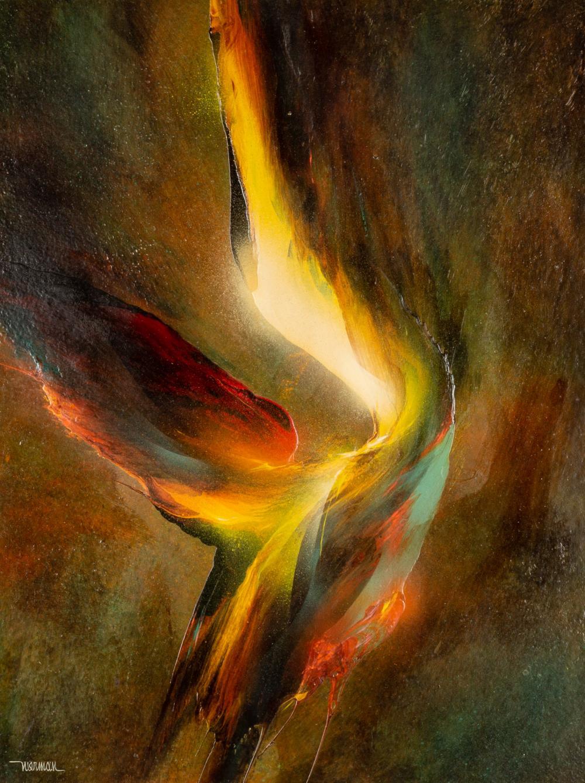 "Leonardo Nierman (American/Mexican, b. 1932) ""Bird of Paradise"""