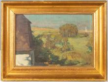 Alois Kalvoda (Czech, 1875- 1934) Landscape
