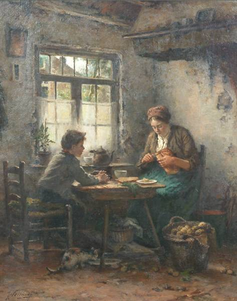 Sgn. Weiland,  Johannes Weiland (Dutch 1856-1909)