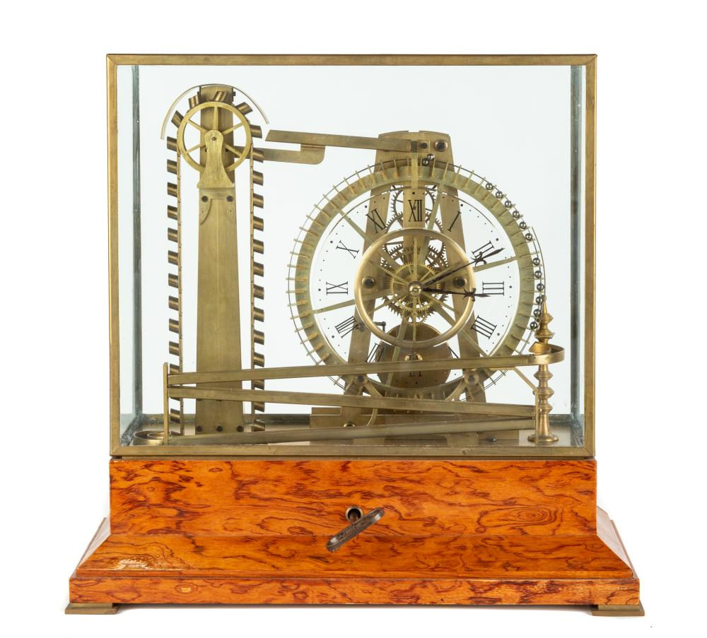 French Rolling Ball Clock