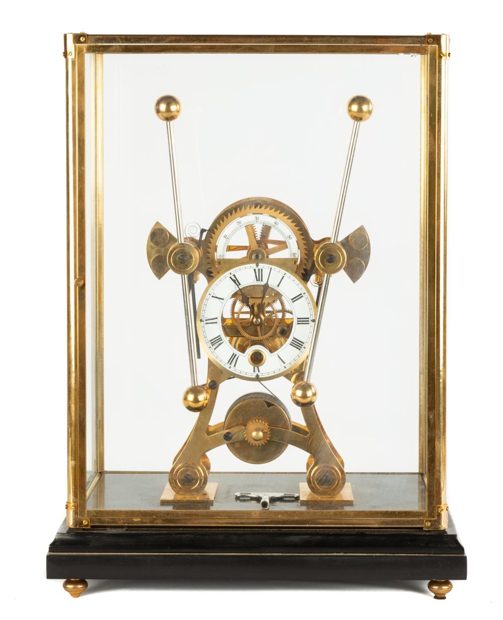 Contemporary Grasshopper Skeleton Clock