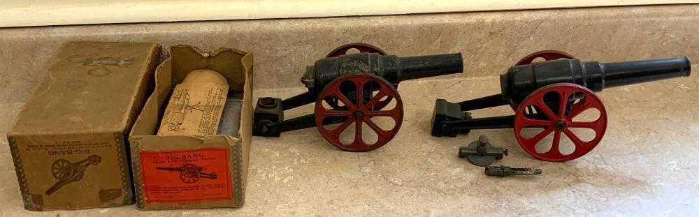 (3) Big Bang Carbide Cannons