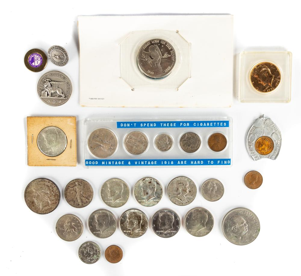 Group of US and Continental Currency