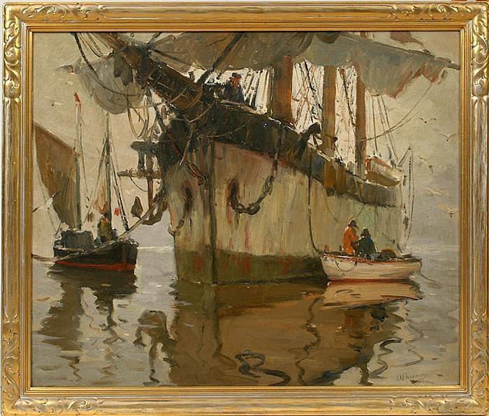 Sgn. A. Thieme (1888-1954) O/C