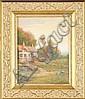 Hamilton Irving Marlatt (American, 1867-1929) Cottage, Hector Irving Marlatt, Click for value