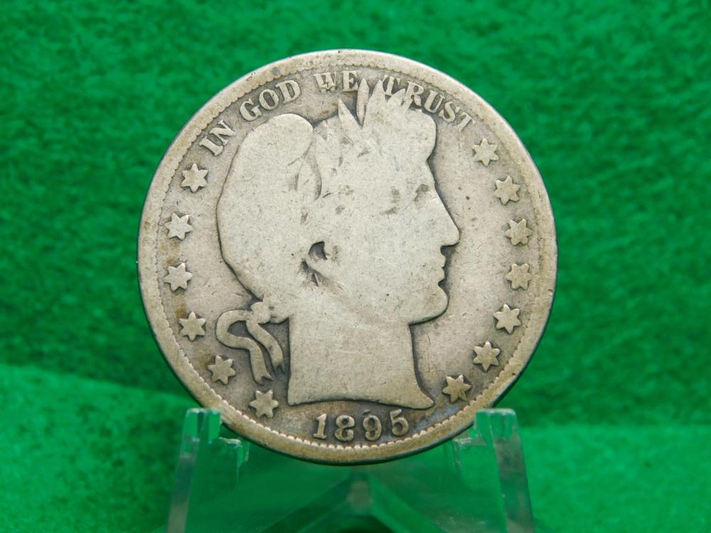 1895-S BARBER HALF DOLLAR G N(BETTER  DATE)