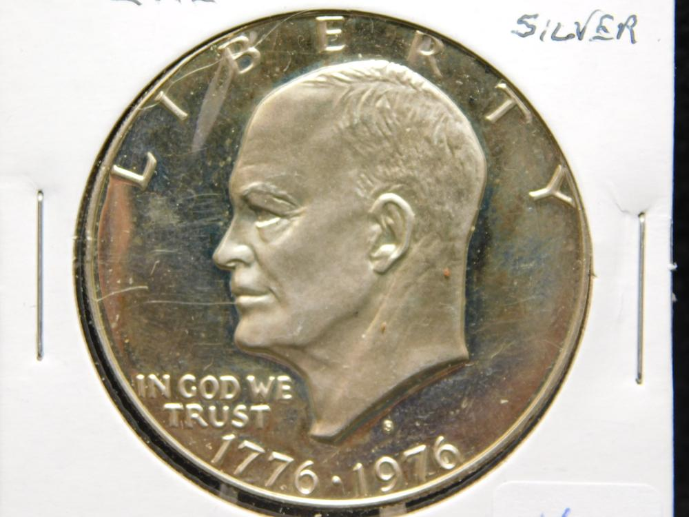 1976-S BICENTENNIAL PROOF EISENHOWER SILVER DOLLAR