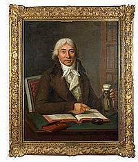 VOIRIOT Guillaume (1712-1799). Portrait de