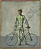 Arletecchino con Biciclet by Aldo Pagliacci (Italian, b. 1913),, Aldo Pagliacci, Click for value