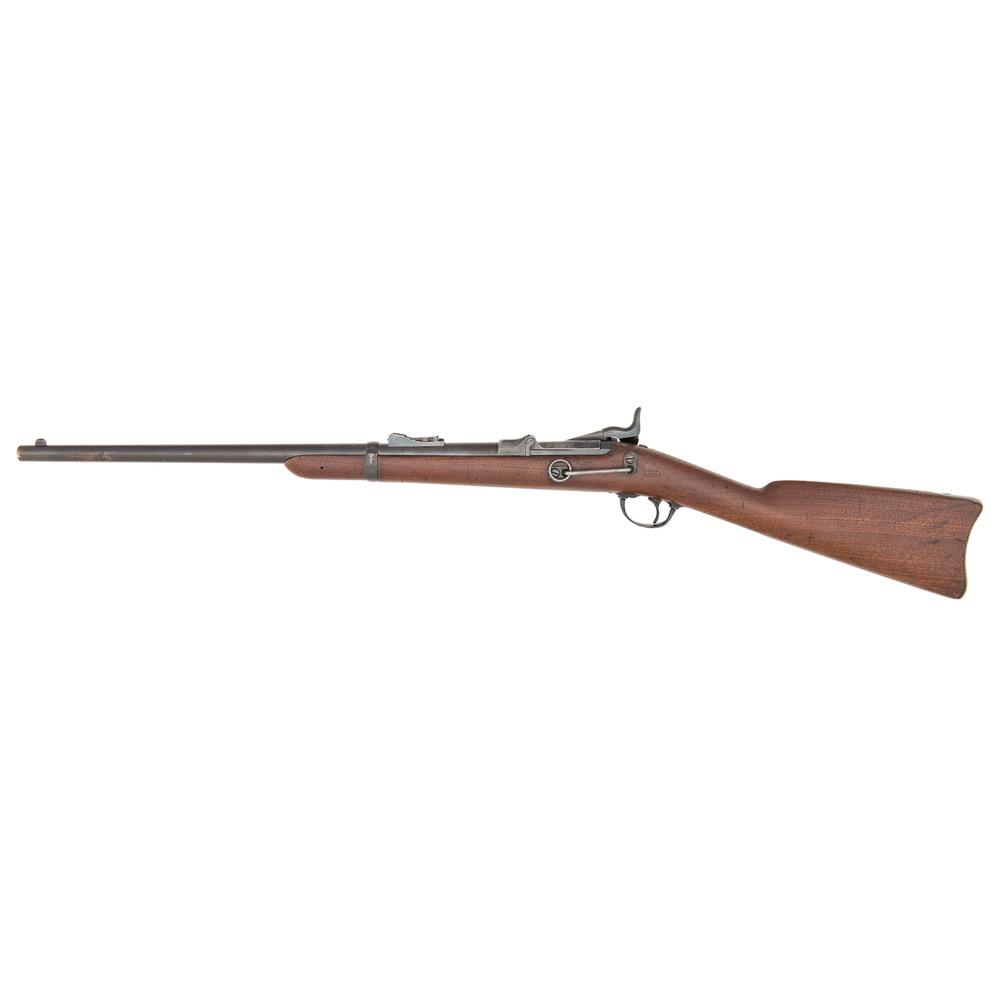 Sold Price: Rare Early Model 1873 Springfield Trapdoor Carbine ...