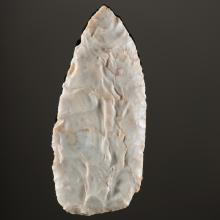 A Flint Ridge Chalcedony Cache Blade, From the Collection of Jan Sorgenfrei, Ohio
