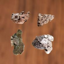 Old Copper Culture Raw Copper AND Silver, From the Collection of Roger