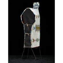 Sioux Beaded Hide Cradle, Collected by Gustav (Gus) Sigel (1837-1923)