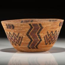 Yokut Polychrome Basket, From the Collection of Ronald Bainbridge, Michigan