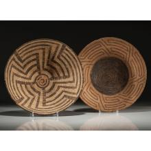 Akimel O'odham (Pima) and Tohono O'odham (Papago) Baskets, From the Collection of Ronald Bainbridge, Michigan