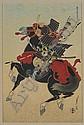 Sadanobu Hasegawa III (1881-1963), Three Woodblocks in Colors,, Sadanobu Hasegawa III, Click for value