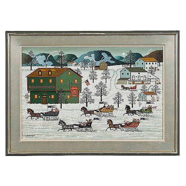 Country Race by Charles Wysocki (American,