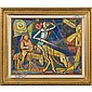 Irving Amen (b. 1918) Don Quixote and Sancho Panza, Irving Amen, Click for value