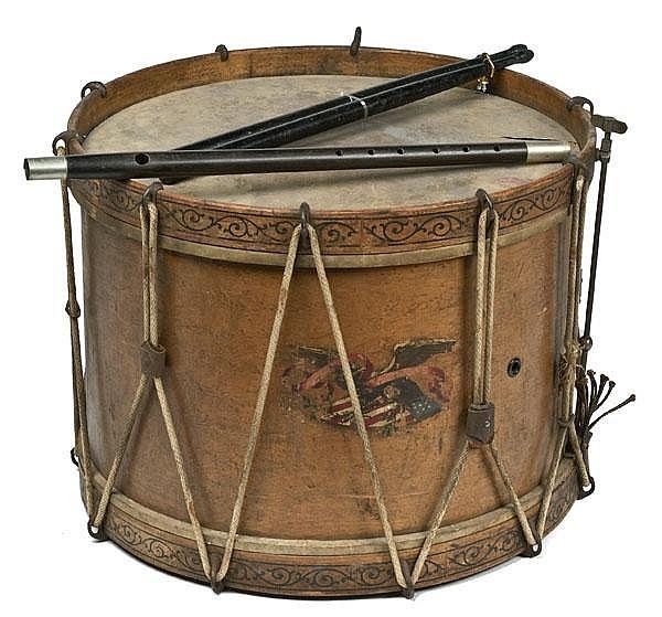Civil War Era Drum and Fife